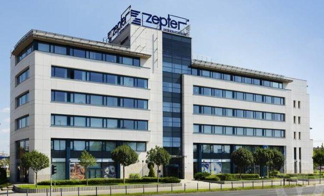 A Zepter Magyarország központi irodája és székhelye. Budapest, Váci út 191.