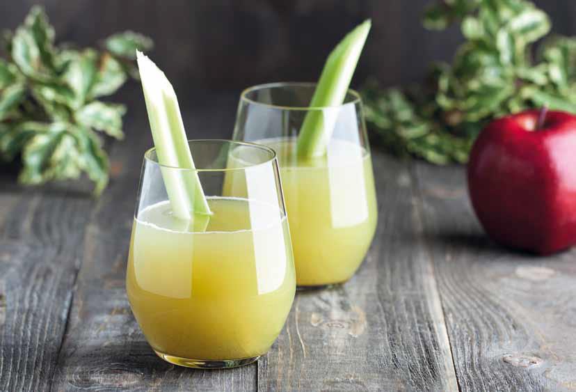 Édesség-helyettesítő dzsúsz (alma, zeller, fahéj)