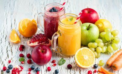 Tavaszváró gyümölcslevek. Forrás: Shutterstock