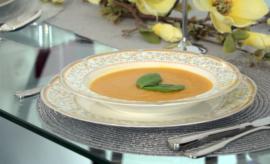 Gyömbéres sárgarépa krémleves recept