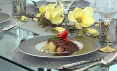 Szaftos steak 5 perc alatt hozzáadott zsír és olaj nélkül Zepter edényben