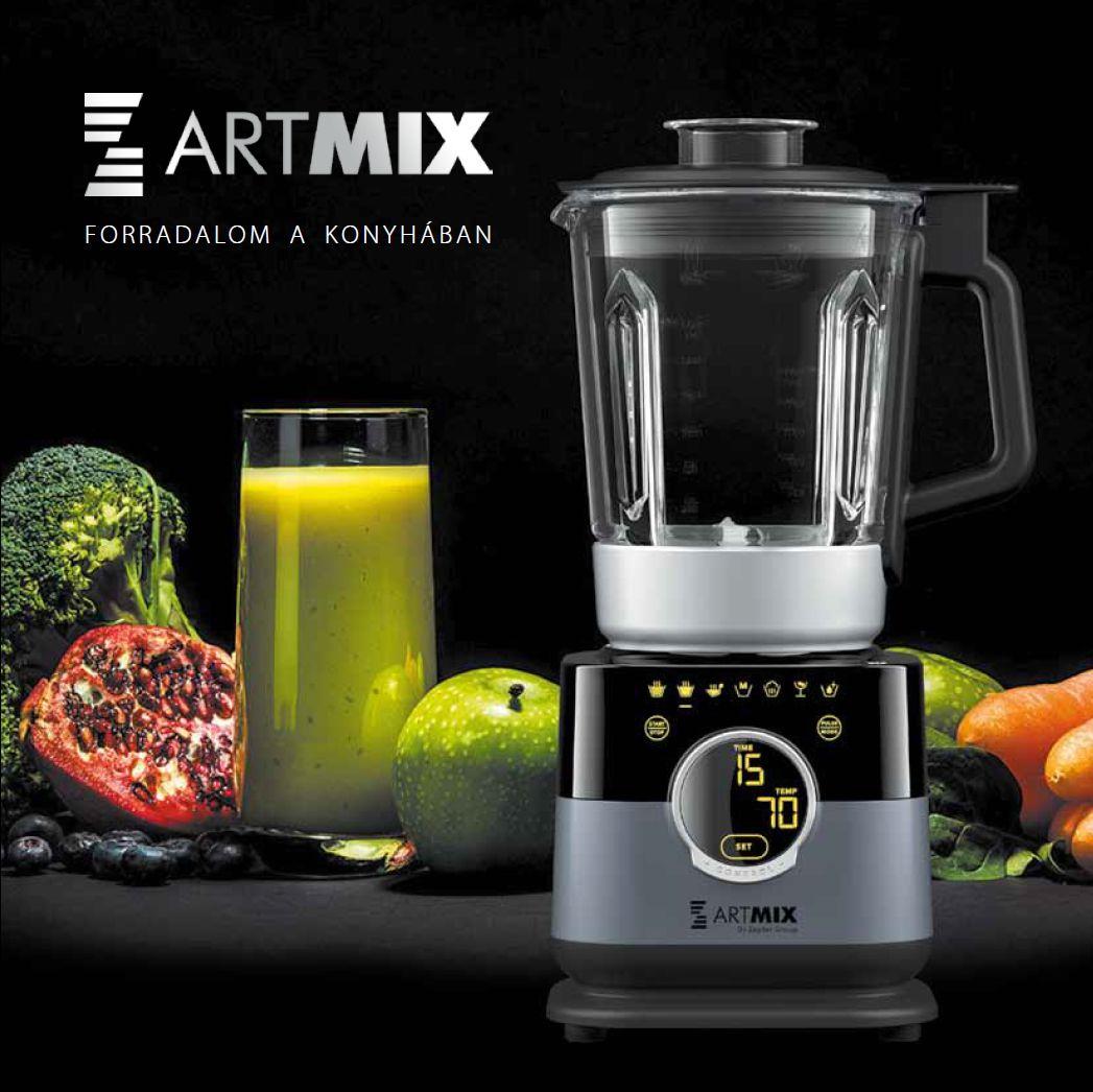 ArtMix robotgép - Forradalom a konyhában!