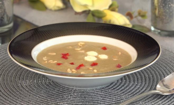 Csiperkegomba leves brindzával - ArtMix recept