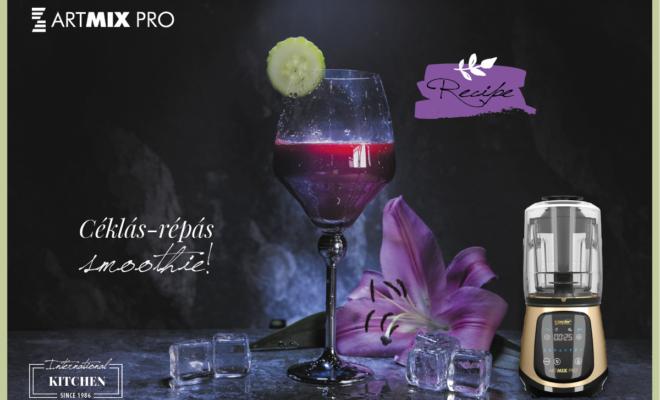Céklás-répás smoothie az ArtMix Pro-val