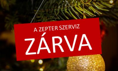 A Zepter szerviz ünnepi nyitvatartása 2020-ban