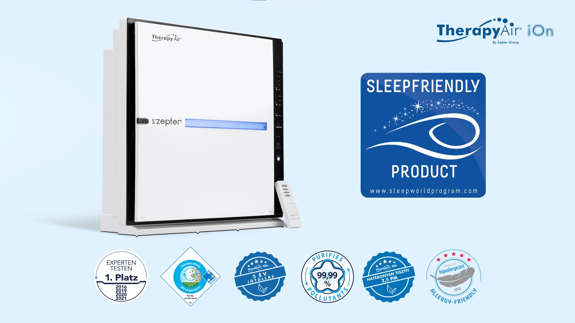A Therapy Air iOn alvásbarát termék